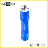 Lanterna elétrica de alumínio do diodo emissor de luz do cavamento telescópico de múltiplos propósitos do foco (NK-1862)