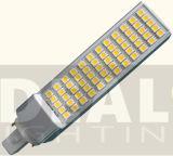 LED 옥수수 전구 G24 PLC 9W는 사무실 점화를 연결한다