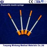 처분할 수 있는 1cc 인슐린 주사통 0.5cc 인슐린 주사통 0.3cc 인슐린 주사통 (ENK-YDS-044)