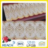 Nappe de lacet de PVC de la vente en gros 50cm de crochet bon marché de largeur longue (JFBD013)