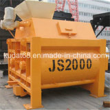 2000L eléctrica de dos mezcladores horizontales Ejes (JS2000)