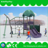 Equipamento ao ar livre usado do campo de jogos da escola para a venda