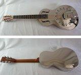 Поставщик сертификата BV/SGS---Гитара резонатора тела размера салона Китая Aiersi латунная