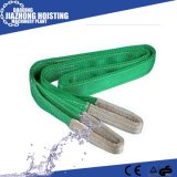 Fábrica de suprimentos de lona de poliéster Soft Webbing Slings for Pipe Lifting