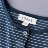 Phoebeeの100%年の綿の女の子は夏のための服に着せる