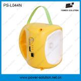 Luz solar portable de la linterna de la batería de litio que acampa LED con la carga del teléfono (PS-L044N)