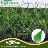 Alfombra plástica de alta densidad de mirada natural de la hierba