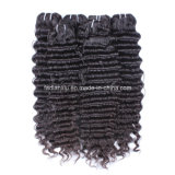 Cabelo brasileiro do Virgin do Weave do cabelo humano da venda por atacado 100% (FDX-YY-KBL)