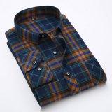 OEM van de fabriek Lang Katoenen van de Manier van de Koker Toevallig Overhemd voor de Mens