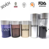 Polvere naturale dei capelli delle fibre della costruzione dei capelli del cotone di Sevich con il contrassegno privato dell'OEM