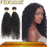堅のアフリカの巻き毛のブラジルのRemyの毛の拡張人工的な人間の毛髪