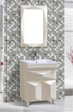 Mirror를 가진 Floor 현대 Standing PVC Bathroom Furniture