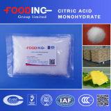工場販売の食品等級の最もよい価格のクエン酸の一水化物