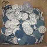콘크리트를 위한 크롬 17 다이아몬드 지면 닦는 패드
