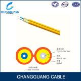 Крытый рисунок 8 двухшпиндельный кабель Gjfj8V волокна сердечника