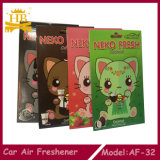 Buona bevanda rinfrescante di aria dell'automobile dell'odore, bevanda rinfrescante di aria di carta dell'automobile