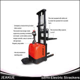 Jeakue 1200kg Fork Overlay Electric Stacker