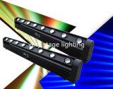 8 partes que movem a iluminação principal do partido do evento do diodo emissor de luz do feixe da barra de RGBW