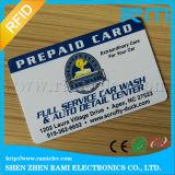 La impresión de encargo grabó el sello plástico duro del oro de las tarjetas de visita