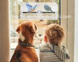 Alimentador de pájaros ventana de acrílico de encargo con bandeja de agua