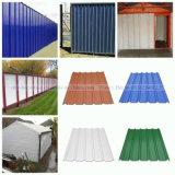 Лист стены PVC внешней пользы Corrugated