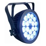 New 18 * 6in1 15W RGBWA + UV LED PAR para Outdoor Stage Lighting