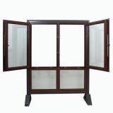 Los paneles dobles fuera de la ventana de aluminio del marco de la abertura