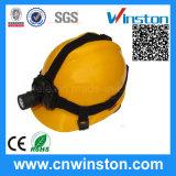 Faro protetto contro le esplosioni ricaricabile del casco del LED con CE