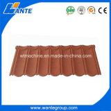 Couleurs personnalisées des tuiles de toiture enduites en métal de pierre de Chine