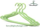 Percha de ropa plástica de múltiples funciones para el hogar con el gancho de leva de Matel