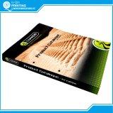 Impressão do livreto do folheto do compartimento do livro do catálogo da cor cheia da alta qualidade