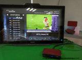 A melhor caixa da parte superior do aparelho de televisão com soluções de IPTV/Ott e o Apps livre