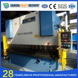 Machine à cintrer du carbone de Wc67y de plaque hydraulique d'acier