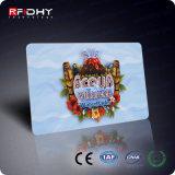 Carte de récompense d'IDENTIFICATION RF du constructeur 125kHz/13.56MHz de la Chine