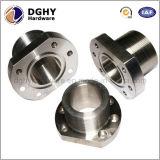 CNC che lavora i piccoli pezzi di ricambio alla macchina di alluminio anodizzati di giro meccanici medi