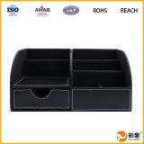 Unità di elaborazione Leather Desktop Storage Box per Gift