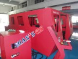 Machine de découpage de laser de coupeur de laser en métal de fibre/acier inoxydable