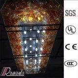 Lámpara ambarina decorativa de la bola de cristal del hotel moderno