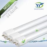 +Al 9W 10W 15W 18W 36W 18W 25W LED T8 세륨 SAA UL RoHS를 가진 유리제 플라스틱