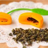 Beau thé orange créateur Infuser de silicones de forme