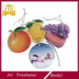 Kundenspezifisches Zeichen gedrucktes hängendes Auto-Luft-Erfrischungsmittel