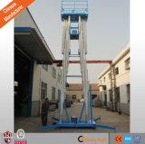 [س] الصين مصنع خداع هيدروليّة مزدوجة [ألومينوم لّوي] سارية أحد رجل مصعد