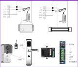 Drahtloses WiFi video Sichttür-Telefon-Türklingel-Gegensprechanlage-inländisches Wertpapier für iPhone Samsung-Handy-Tablette PC