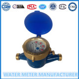 """ 1 "" Multi-Двигателя тела дюйма тип счетчик воды латунного сухой"
