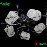 Dispositivo elétrico na lâmpada de parede de vidro com duas lâmpadas (9375/2W)