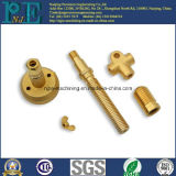 Zoll CNC-maschinell bearbeitenservice-Messing CNC-Ersatzteile