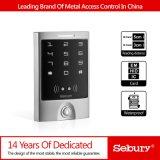 Control de acceso impermeable del metal de la tarjeta de la proximidad y del telclado numérico RFID