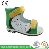 Tolerancia Ortho New Children Leather Health Sandal con Pigskin Upper