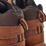 Zapatos de seguridad de goma de Outsole, zapatos de seguridad de acero del dedo del pie para los hombres M-8346