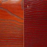 PVC en bois Sheet de Grain Decorative pour Furniture Coating